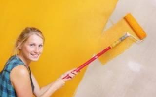 Водостойкая краска для ванной комнаты без запаха