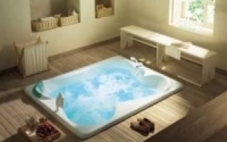 Самая большая ванна размеры