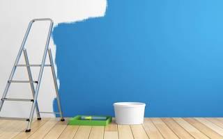 Как правильно покрасить стены в квартире?