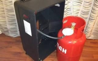Газовый нагреватель воздуха для гаража