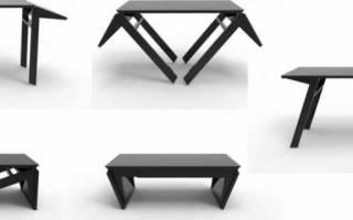 Раздвижной стол консоль трансформер