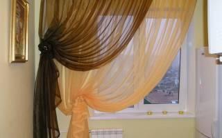 Как подвязать шторы