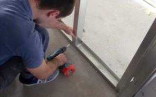 Как собрать стену из гипсокартона