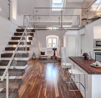 Дизайн двухуровневой квартиры фото
